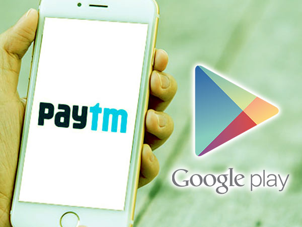 Paytm debuts Google Play recharge codes sales
