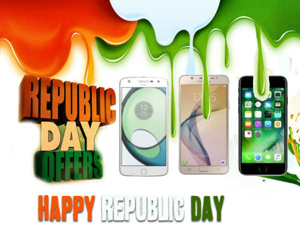 Republic Day 2017 offers: Find discounts on iPhone 7, Galaxy S7 & More