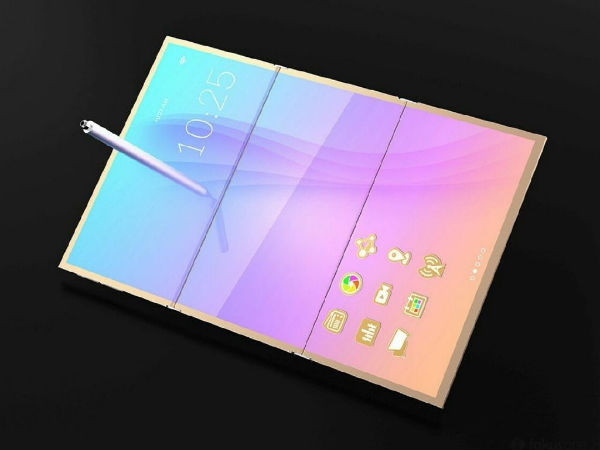 Samsung foldable display smartphone's concept renders look stunning