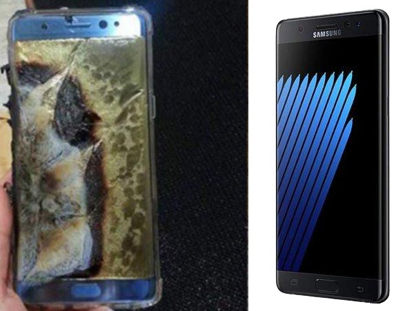 Samsung Galaxy Note 7 battery could be the reason for explosion