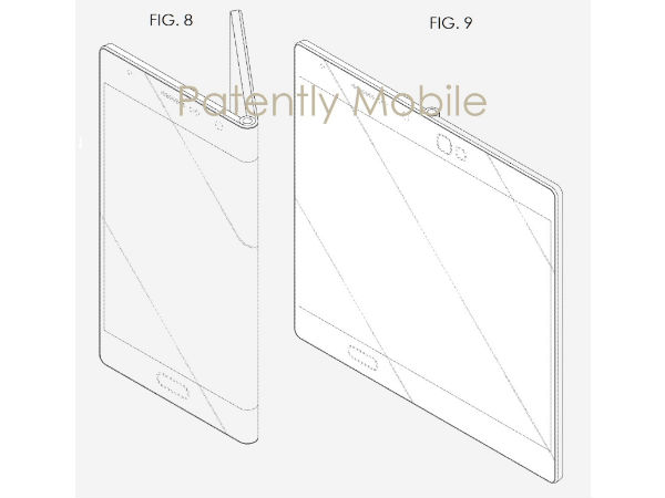 Samsung Hasn't Forgotten Foldable Smartphones, Patent Reveals Design