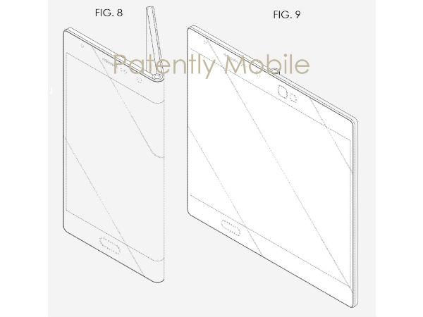 Samsung Hasn't Forgotten Foldable Smartphones, Patent Reveals Design