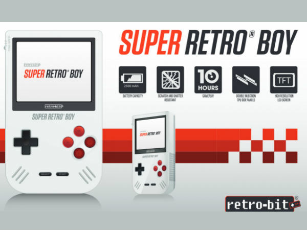 Super Retro Boy is nearly  the 'Game Boy Classic' of your dreams
