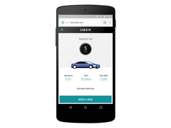 Uber Ride Time Charges Hiked by 15 Percent in Delhi-NCR