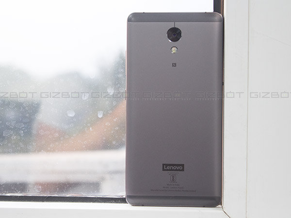 Lenovo P2 benchmark tests: average CPU and RAM score for a mid-ranger