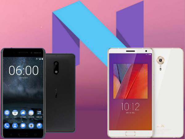Upcoming Android Nougat smartphones Expecting to launch Soon