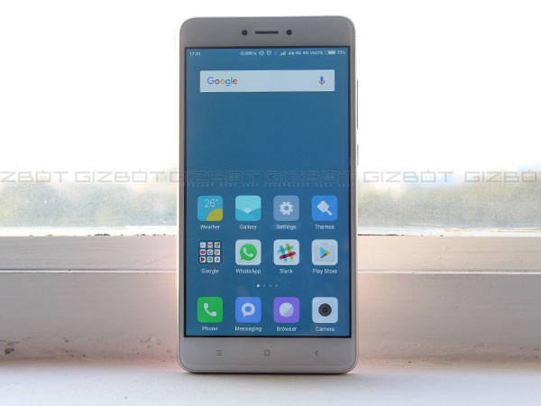 Xiaomi Redmi Note 4 launched in India starting at Rs. 9,999