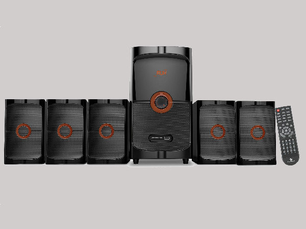 Zebronics Thrill 5.1 speaker launched at Rs. 4,444