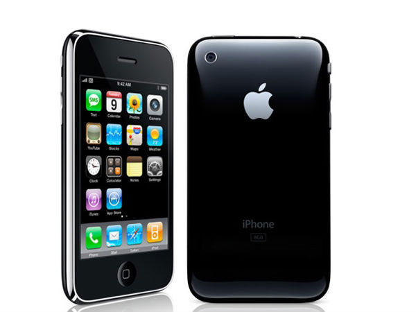 Apple iPhone 3G launched in the year 2008