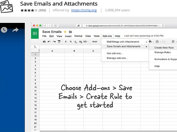 Save Emails and attachments directly to Google Drive