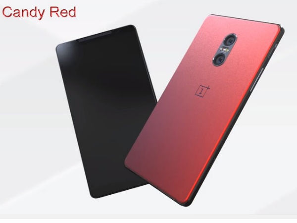 OnePlus 4 to come with a red paint job
