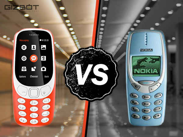 Nokia 3310 (2017) vs Nokia 3310 (2000): Here's the difference