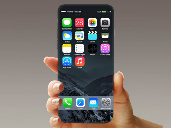 Apple iPhone 8 to ditch the physical home button