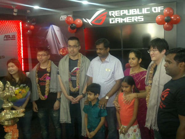 ASUS inagurates third 'Republic of Gamers' store in India