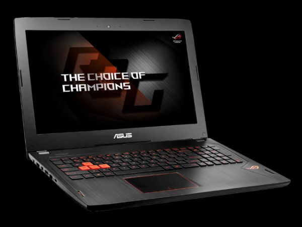 Asus ROG Strix GL553 gaming notebook launched at Rs. 94,990