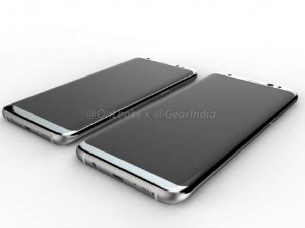 Samsung Galaxy S8 and S8 Plus renders leak; Live image too leaks