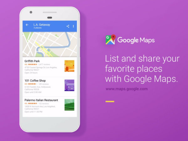Here's how to create, share and edit your Google Maps List