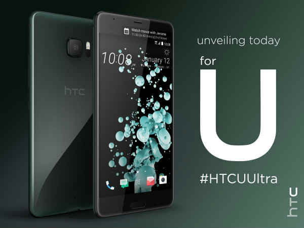 HTC U Ultra launching in India today; watch the event live here
