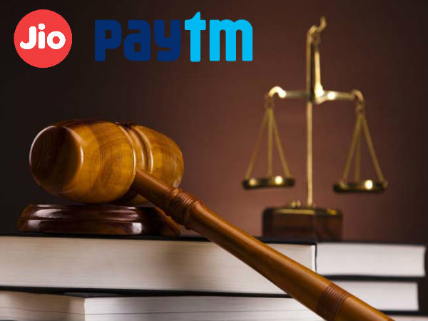 Reliance Jio and Paytm receive notices form the Government