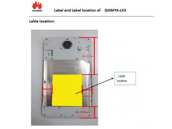 Huawei's rumored smartphone