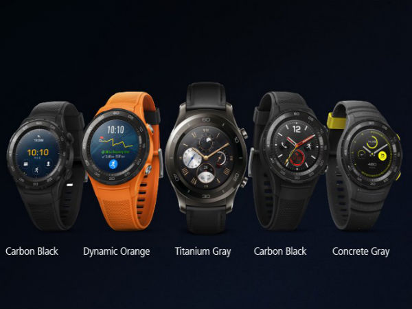 Huawei Watch 2 and Watch 2 Classic unveiled with SIM card slot