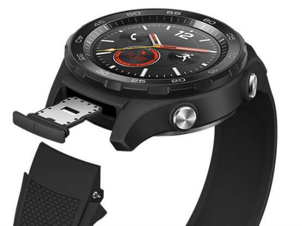 Huawei Watch 2 press renders reveal SIM card slot and sporty look