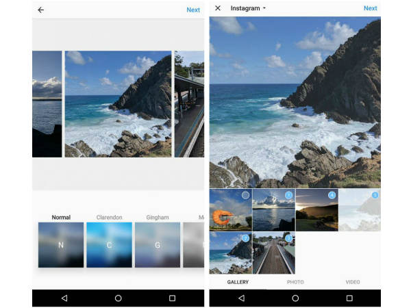 Instagram could bring multi-photo album feature on the Android App
