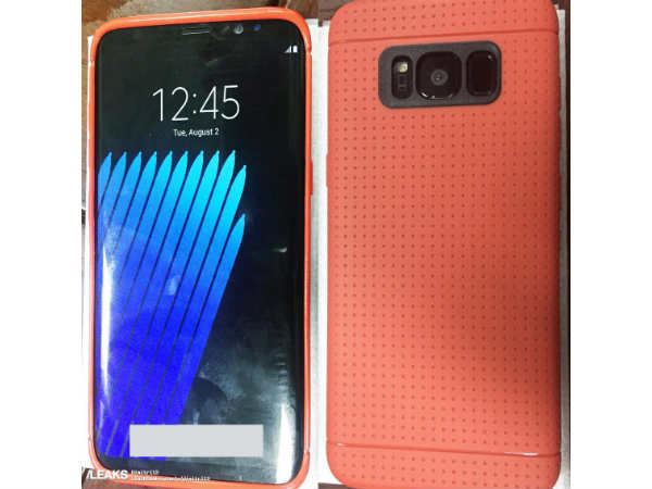Latest Samsung Galaxy S8 leak shows fingerprint sensor at the rear