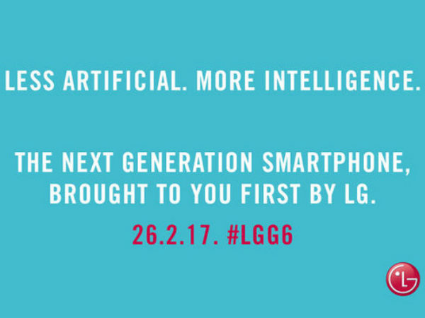LG G6 new teaser states 'less artificial more intelligence'