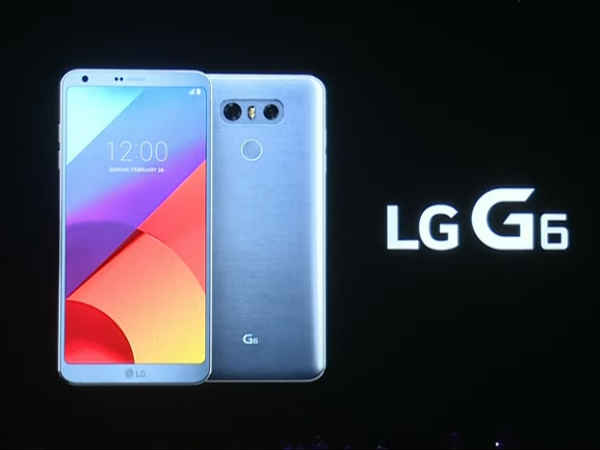 LG G6 with 5.7-inch FullVision display, Snapdragon 821 chipset, and more launched at MWC 2017