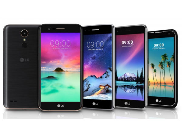 LG K3, K4, K8, and K10 to be launched in India on February 22