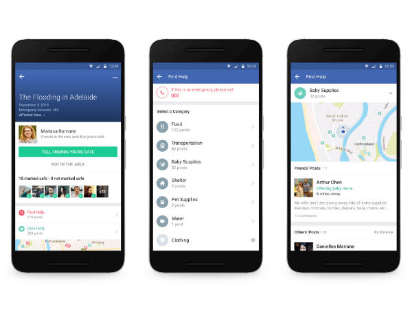 Facebook introduces Community Help feature for disaster situations