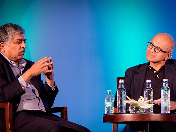 IT Minister urges Microsoft CEO Nadella to help boost DigiGaon initiative