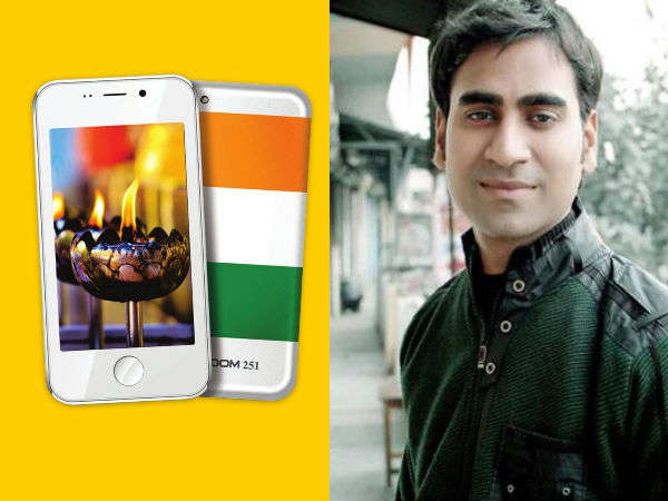 Mohit Goel, director of Freedom 251 maker Ringing Bells detained