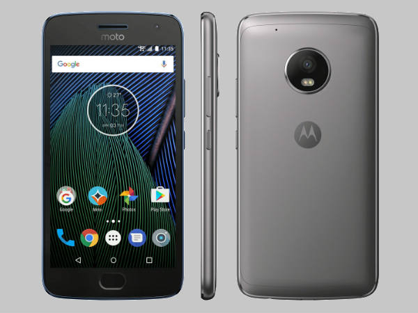 Moto G5 Plus render for Verizon leaks on Twitter