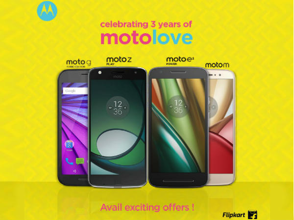 Motorola observes 3rd Anniversary by launching exchange offers, massive discounts on Moto Z, Z Play