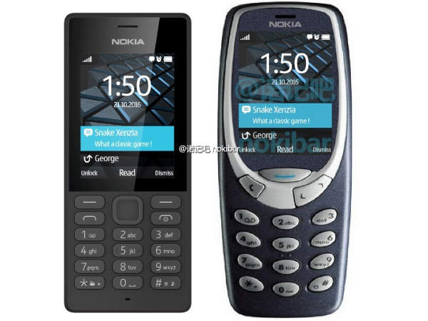 Nokia 3310 (2017) render leaks; confirms oval design