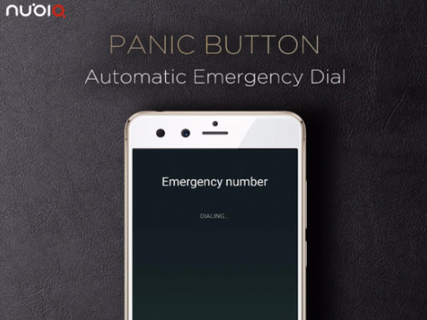 Nubia phones will now come with a panic button
