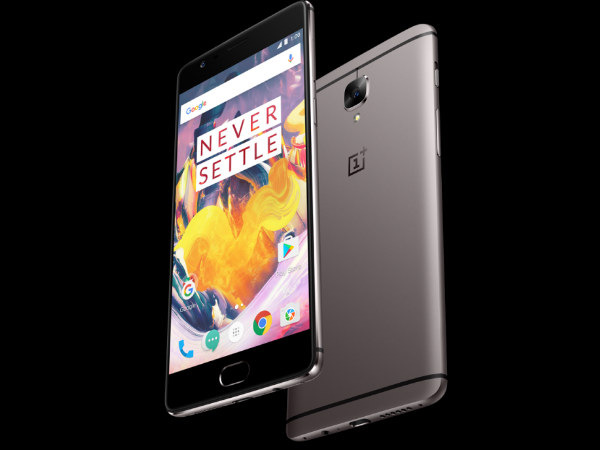 OnePlus 3T 128GB Gunmetal variant to go on sale via Amazon India