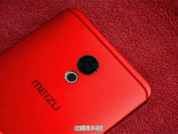 Red color Meizu Pro 6 Plus live images leaked