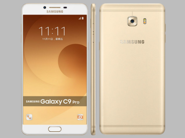 Galaxy C9 Pro up for pre-orders: Alternative smartphones with 6GB RAM
