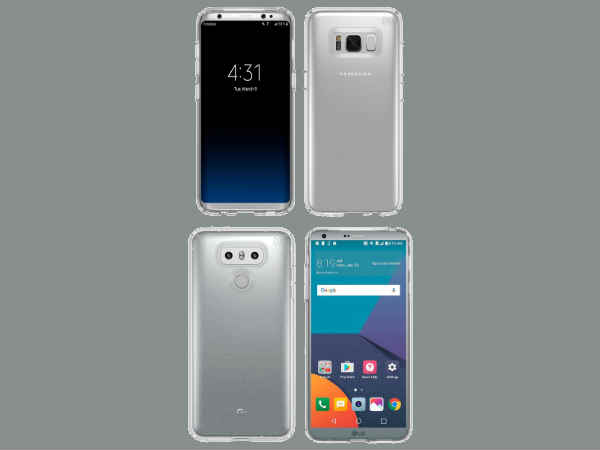 Samsung Galaxy S8 and LG G6 final design revealed