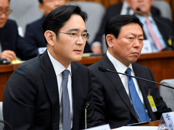 Samsung's Lee Jae-yong arrested against corruption charges