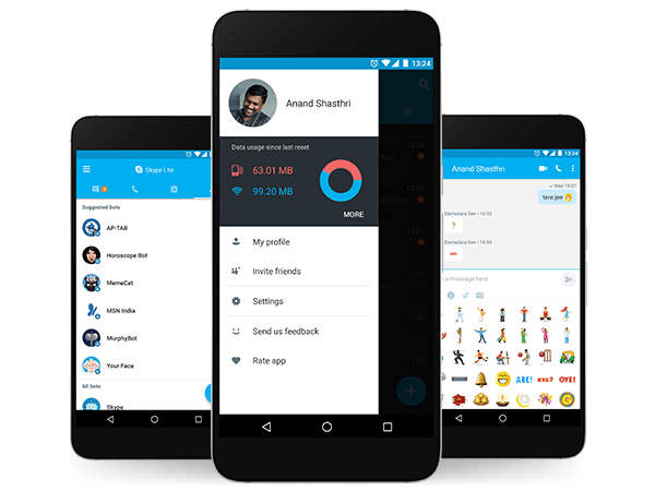 Microsoft Skype Lite First impressions: Feature loaded light weight communication hub for Android