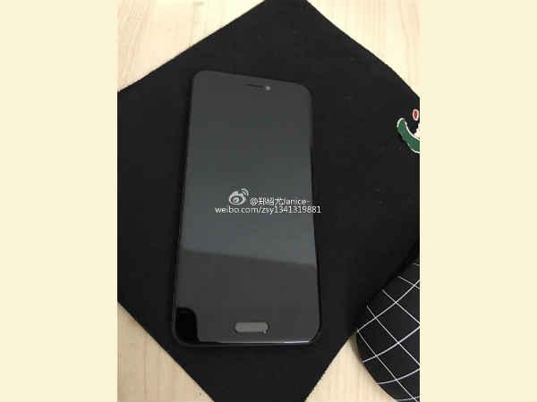 Xiaomi Mi 5C live render suggests no physical home button