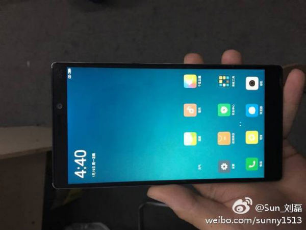 Xiaomi Mi 6 live photos with Mi Mix like display leaked!