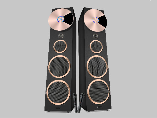 "Zebronics launches ""Hard Rock 1"" Tower speakers at Rs. 30,300"