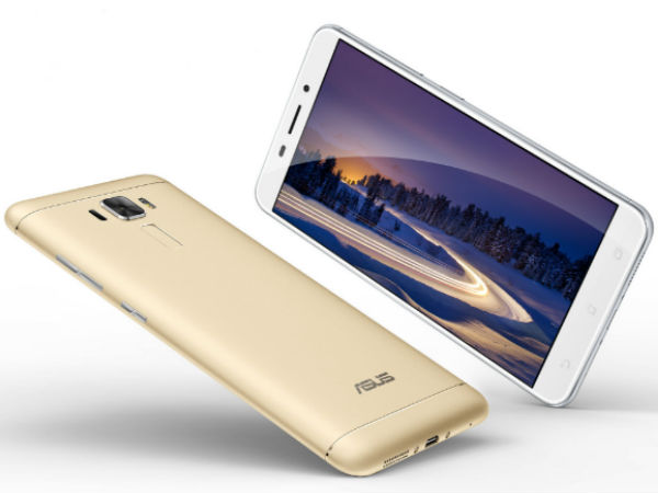 15% off on Asus Zenfone 3 Laser (Gold, 32 GB)