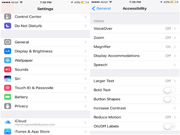 How to enable the Magnifier feature on your iPhone: