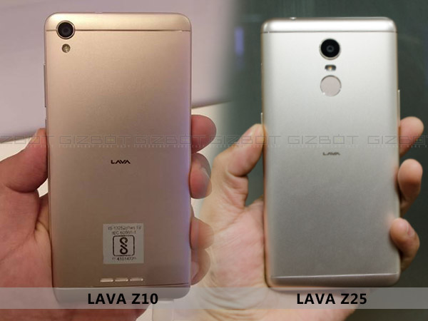 Never miss a moment with the snappier cameras on Lava Z10 and Z25